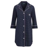 Ralph Lauren Essential Heritage Nightshirt Navy Dot