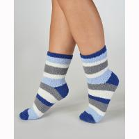 BS170|Slenderella|super soft|bed socks|blue|gifts for her|Christmas gifts