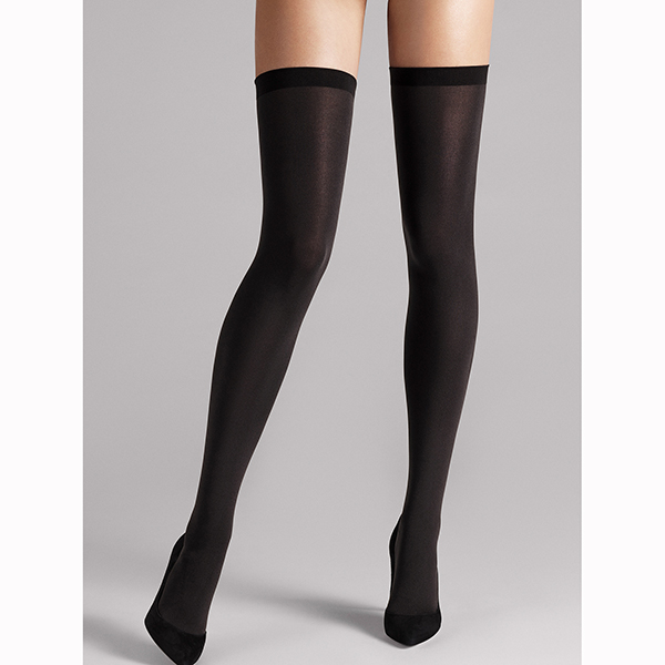 28042 7005|Wolford|Fatal 80 Seamless|stay ups|hold ups|wolford hold ups|black|luxury|