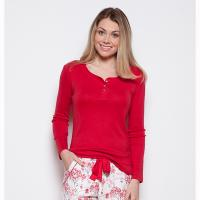 Erin|Cyberjammies|knitted top|3566|long sleeved|mix and match pyjamas|christmas for her