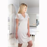 Clara Rossi|Modal|Nightdress|with sleeve|5139|nightie|ladies nightie|Pollard and Read|new in|Italian brand|