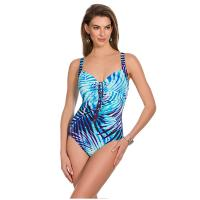 Rivage|Miraclesuit|6501875|Blue|Control swimwear|10lbs lighter| Pollard and Read