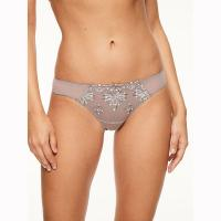 Chantelle|Champs Elysees|Tanga|thong|C26090|dusky mink|ladies brief|brand name|Pollard and Read