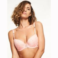 Batignolles|Chantelle|lingerie|bra|half cup|pink|6712|C67120|new in|SS18|