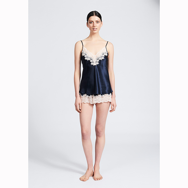 Ginia Silk Camisole with Lace GPM201 N P bfc9036a8