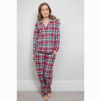 Holly|Cyberjammies|check print|red check|traditional pyjamas|check pyjamas|Christmas Pyjamas|brushed cotton|gifts for her|gifts for mum|Christmas|Pollard and Read
