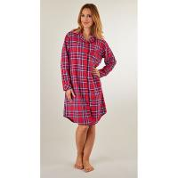 Slenderella|Cotton|Tartan|Nightshirt|NS8230|