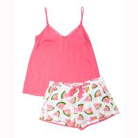 Pippa|Cyberjammies|Watermelon|cami|short|4149|4147|sleep wear|ladies sleepwear|ladies nightwear|Pollard and Read|Holidsay shop