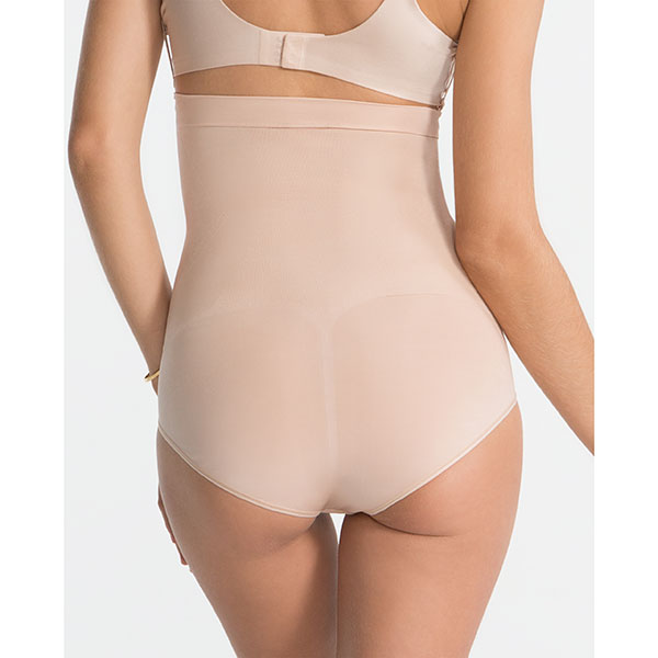Spanx|high waist|mid thigh|control brief|control pant|soft nude|Pollard and Read