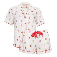 Cyberjammies|Sophia|Strawberry|Print|Top/Short|Set|