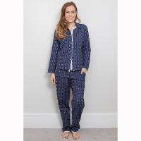 Zoe|Cyberjammies|Heart|ladies pyjamas|gifts for her|gifts fo mum|Christmas gifts for her|Pollard and Read|Cotton Pyjamas
