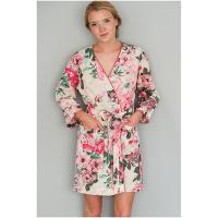 Caro London|Short robe|floral|summer|ladies summer robe|